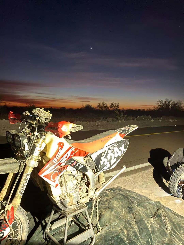 DaVinci Team's broken bike but we ain't giving up